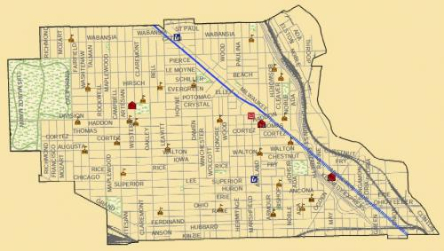 Open House Chicago includes the West Town community area Our Urban