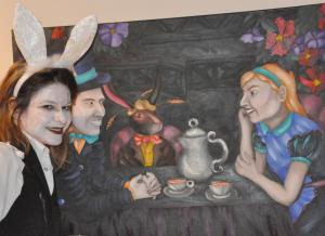 Alice In Berlin Will Join The Mad Hatter Tea Party At Out Of Line Art Gallery For Two Nights Only Our Urban Times